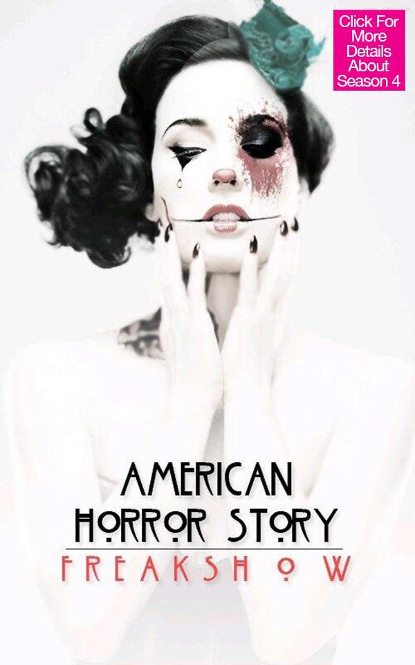 《美國恐怖故事》第四季「怪人秀」近期就要開播