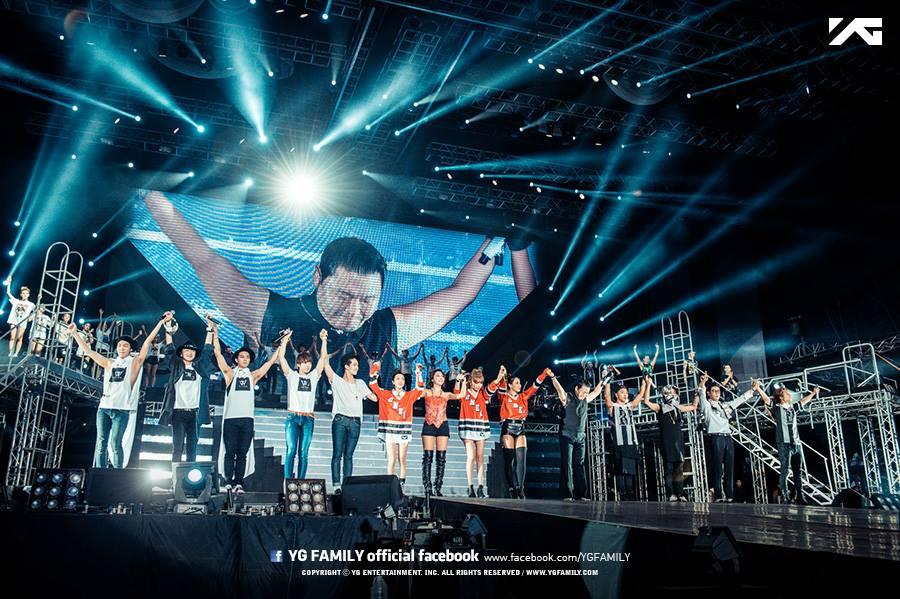 YG Family台灣桃園演唱會(圖片取自 YG-Family臉書)