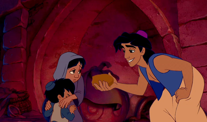 A-Hungry-Aladdin-Gives-The-Bread-He-Just-Stole-To-Some-Hungrier-Kids